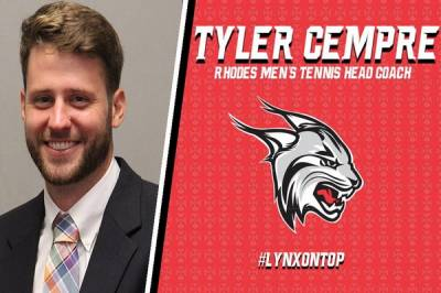 Tyler Cempre is the new men's head coach at Rhodes College