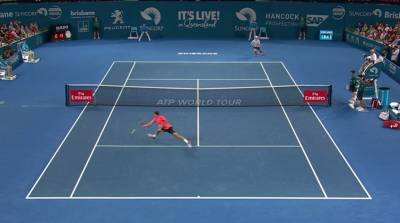 Top 5 ATP hot shots from the Brisbane Finals