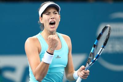 Garbine Muguruza believes the Australian Open draw is wide open