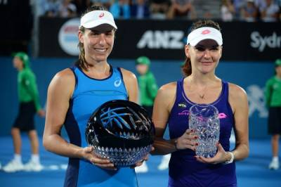 WTA SYDNEY: Konta captures her second WTA title after impressive win over Radwanska