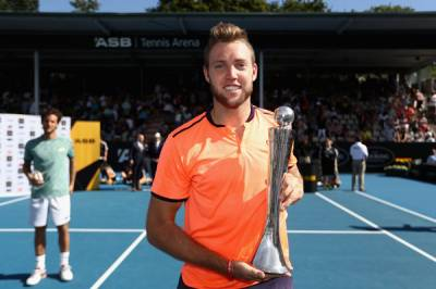 ATP AUCKLAND: Jack Sock wins his second ATP title and cracks the Top 20 for the first time