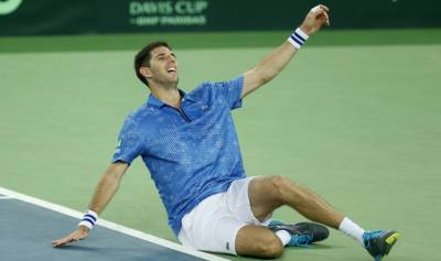 Federico Delbonis: 'People see me as the savior of the world'