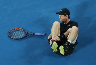 Andy Murray and his ankle: 'When I fell, I heard a few little crackles'
