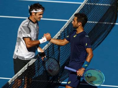 Noah Rubin: 'Roger Federer is immortal, he is going to be here forever'