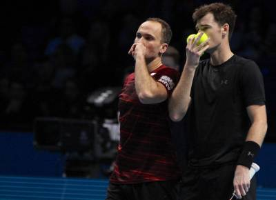 AUSTRALIAN OPEN MEN'S DOUBLES: Defending champions Jamie Murray and Bruno Soares bow out
