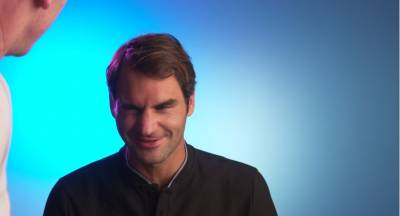 Producer rips a hair from Roger Federers head