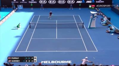 Amazing defensive shots by Murray