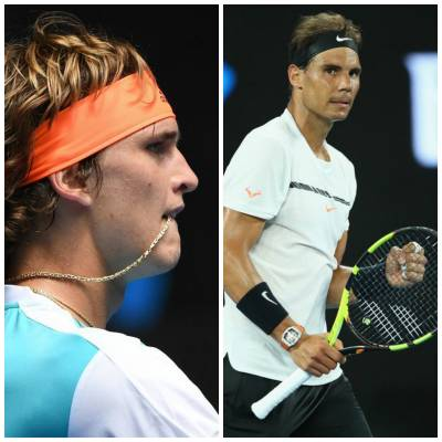 Alexander Zverev: 'Nadal has no weakness, his forehand is one of the best shots ever'