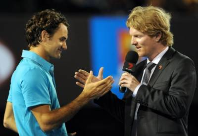 Jim Courier: 'Federer's match against Berdych was magical'