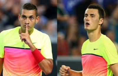 Australian Coaches Not Happy with the effect of Kyrgios and Tomic on Youngsters