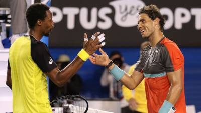 Gael Monfils: 'Nadal is a warrior, I respect him much'
