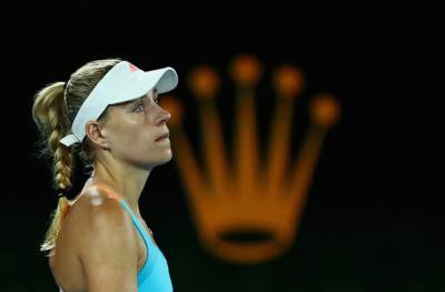 Angelique Kerber: 'I'm disappointed, but this is just the first Grand Slam of the year'