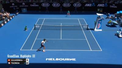 Stan Wawrinka vs Jo-Wilfried Tsonga - Australian Open 2017 QF (highlights HD)