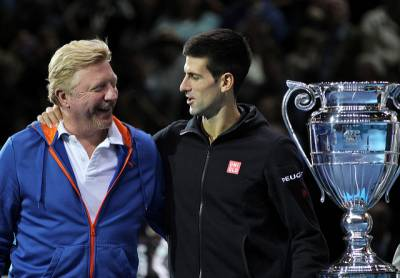 Boris Becker hasn't ruled out the possibility of a reunion with Novak Djokovic