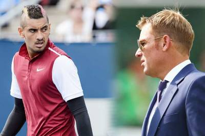 Shane Warne Believes Kyrgios Should Be Banned for 12 Months If He Oversteps the Line Again