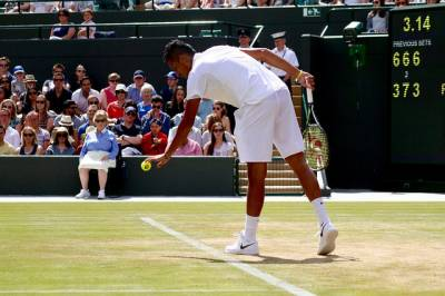Nick Kyrgios excited for this week's Davis Cup, hoping to bounce back