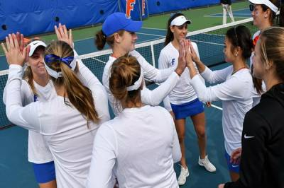 2017 ITA Kick-off Weekend / W: Florida claim win number 1000 to earn the ITA National Team Indoor Championships berth