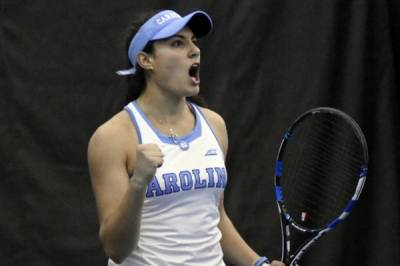 2017 ITA Kick-off Weekend / W: North Carolina eases past Texas to qualify for the ITA National Indoor Championships