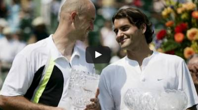 Roger Federer AMAZING MATCH vs his COACH LJUBICIC in 2005