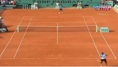Federer vs Nadal - All 34 H2H Match Points