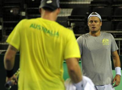 Lleyton Hewitt says Australian Davis Cup team didn't come to mess around this year