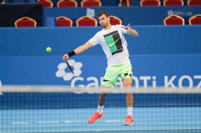 ATP SOFIA - MAIN DRAW: Thiem to face Dimitrov in the semis! Muller, Bautista Agut and Goffin are in bottom half