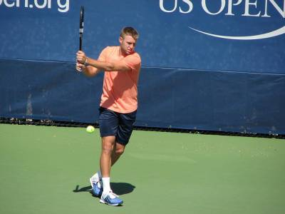 Jack Sock attends NBA game, receives New York Knicks jersey