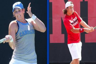 Hayley Carter and�Alexis Galarneau are�Atlantic Coast Conference�Players of the Week
