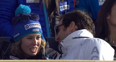 The skier Michelle Gisin: 'I was about to faint when Federer gave me a hug'