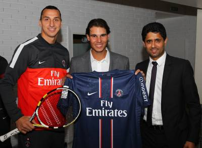 PSG' President: 'I'm a Nadal fan, he is a great person and player'