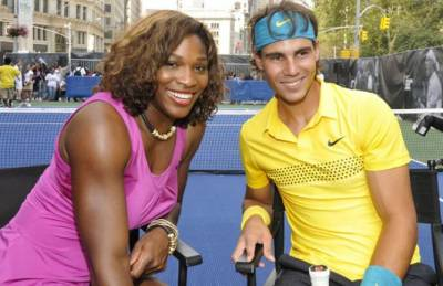Will Rafael Nadal and Serena Williams be at the Colosseum in Rome in May?