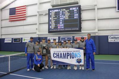 2017 ITA Div. I Nat. Women's Team Indoor Champ.: Florida wins 7th title, the first since 1999