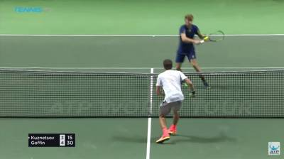 Goffin Shows off Reactions In Rotterdam Hot Shot