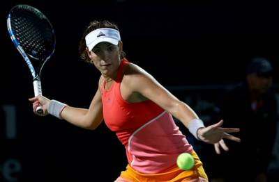 WTA DOHA - Zhang upsets Muguruza! Cibulkova, Wozniacki and Puig through