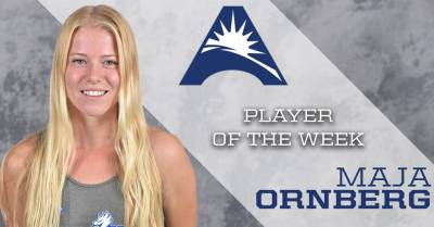 Maja Ornberg named ASUN Player of Week