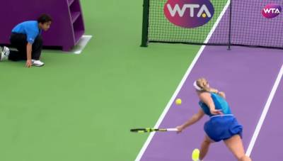 Shot of the day: Caroline Wozniacki