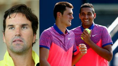Pat Rafter: I have not been speaking to Nick Kyrgios and Bernard Tomic!