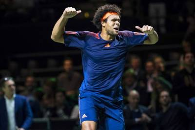 ATP ROTTERDAM: Tsonga comes from behind to upend Goffin, lifting his 13th ATP title