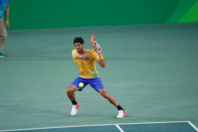 Thomaz Bellucci hoping to pull off first-round surprise at Rio Open and defeat Kei Nishikori