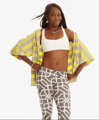 Venus Williams: We have a joke that our bras fit every woman in our office!