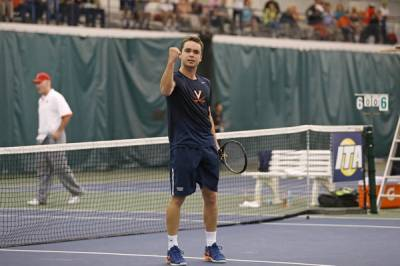 2017 ITA National Men's Team Indoor Champ.: Virginia eases past North Carolina to reach the final