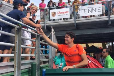 ATP DELRAY BEACH: Young tops another Goliath. Solid wins for Raonic, Coric, Johnson and Sock