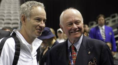 John McEnroe's father has died at 81 age