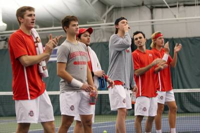 2017 ITA National Men's Team Indoor Champ.: Ohio State prevail against Wake Forest in a thriller