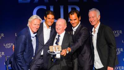 Laver Cup pre-sale tickets go sold out in a few minutes!