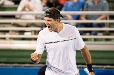 Del Potro gets angry with himself: 'How the fuck you gonna win if you play like this?'