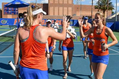 ITA Division I Women's Rankings - February 21, 2017: Florida and Francesca Di Lorenzo tops the charts