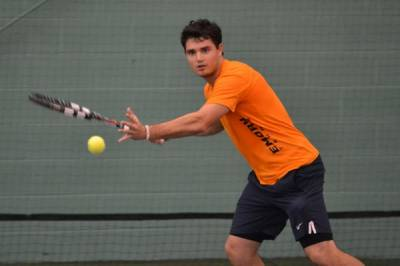 2017 ITA Division III Men's Team Indoor Championship: Emory beat Trinity 7-2 for the place in the semis