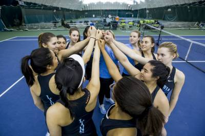 Columbia's Lady Lions had racket details in full swing with Kentucky, Penn State and Marshall