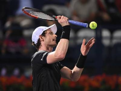 ATP DUBAI - Andy Murray saves seven match points and beats Kohlschreiber after 3 hours